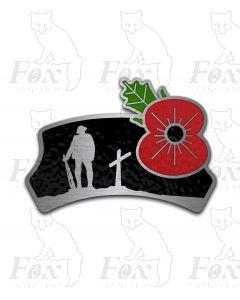 Headboard - POPPY - fallen soldier