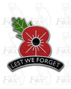 Headboard - POPPY - Lest We Forget