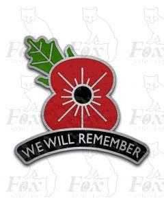 Headboard - POPPY - We Will Remember