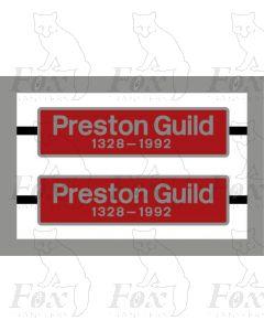 86212 Preston Guild 1328-1992