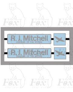 33063 R J Mitchell with Spitfire MPD - LIGHT BLUE