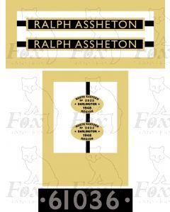 61036  RALPH ASSHETON