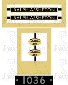 1036  RALPH ASSHETON