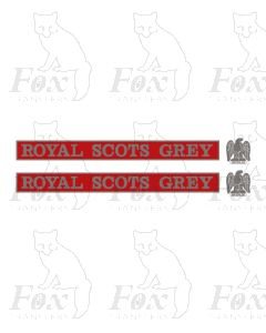 55022 ROYAL SCOTS GREY (with crests)