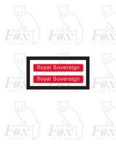87002 Royal Sovereign