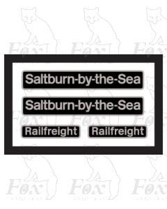 20118 Saltburn by the Sea (with Railfreight plates in BLACK)