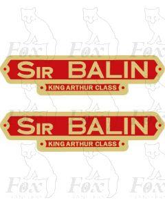 30768  SIR BALIN