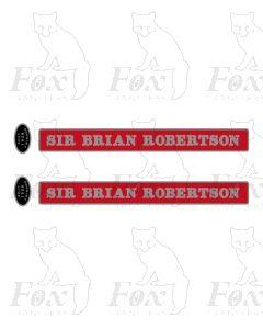 D800 SIR BRIAN ROBERTSON