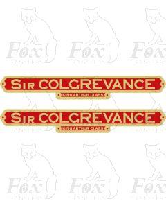 30779  SIR COLGREVANCE