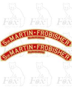 864  SIR MARTIN FROBISHER