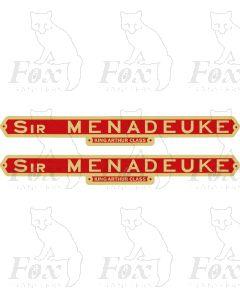 30787  SIR MENADEUKE