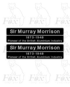 37423 Sir Murray Morrison 1873-1948