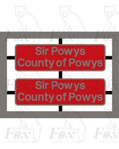 37431 Sir Powys/County of Powys