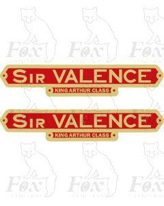 30767  SIR VALENCE
