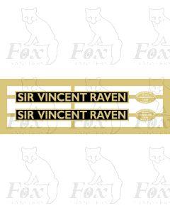 60126  SIR VINCENT RAVEN