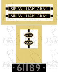 61189 SIR WILLIAM GRAY