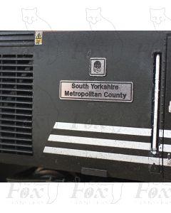 43122 South Yorkshire Metropolitan County