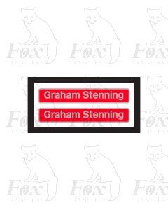 73202 Graham Stenning