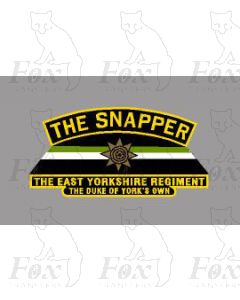 60809  THE SNAPPER THE EAST YORKSHIRE REGIMENT THE DUKE OF YORKS OWN