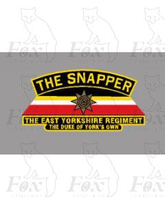 809  THE SNAPPER THE EAST YORKSHIRE REGIMENT THE DUKE OF YORKS OWN