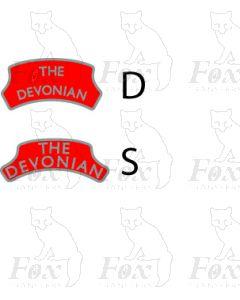 Headboard (plain) - THE DEVONIAN - red