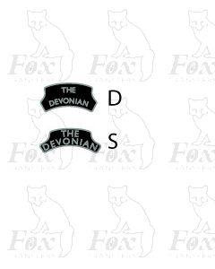 Headboard (plain) - THE DEVONIAN - black