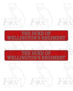 D9014 THE DUKE OF WELLINGTONS REGIMENT
