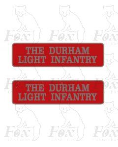 55017 THE DURHAM LIGHT INFANTRY