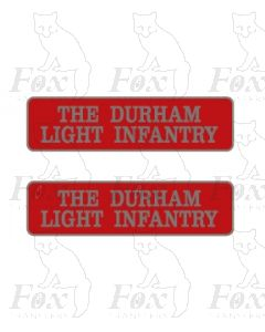 55017 THE DURHAM LIGHT INFANTRY (with crests)