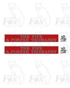 55006 THE FIFE & FORFAR YEOMANRY