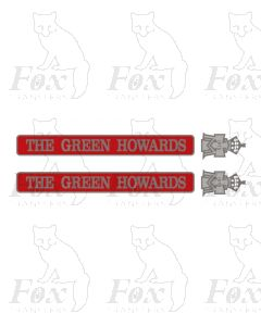 55008 THE GREEN HOWARDS  (with crests)