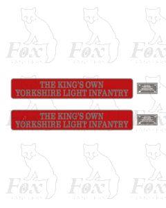 55002 THE KINGS OWN YORKSHIRE LIGHT INFANTRY