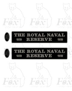 D812 THE ROYAL NAVAL RESERVE 1859-1959