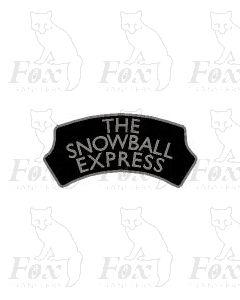 FESTIVE Headboard - THE SNOWBALL EXPRESS
