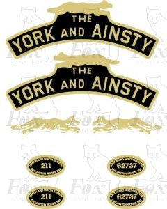211  THE YORK AND AINSTY