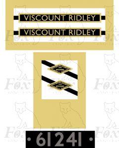 61241 VISCOUNT RIDLEY