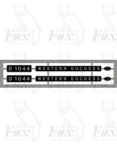 D1044 WESTERN DUCHESS