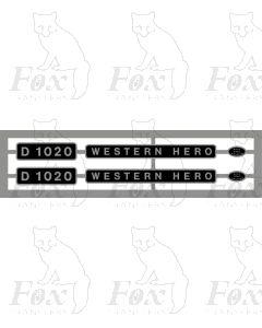 D1020 WESTERN HERO