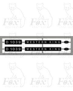 D1039 WESTERN KING