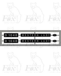 D1048 WESTERN LADY