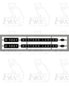 D1027 WESTERN LANCER
