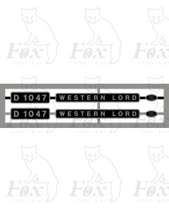 D1047 WESTERN LORD