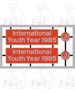 37191 International Youth Year 1985