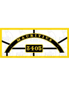 3405 - MAURITIUS - City Class