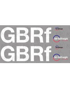 GB Railfreight Lettering and logos (Class 66)