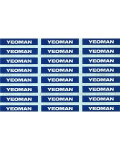 Yeoman PGA Hopper logos (later)