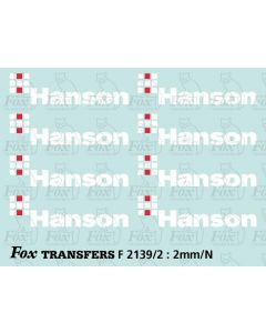 Hanson Loco/Hopper Logos (1999)