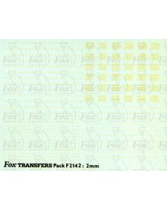 Freight vehicle Data Panels (white/clear)