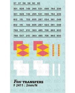 Rf Speedlink Distribution (larger size faded) Symbols/TOPS numbering  (Classes 37/58/60)