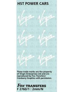 Virgin Logos for HST Power Cars